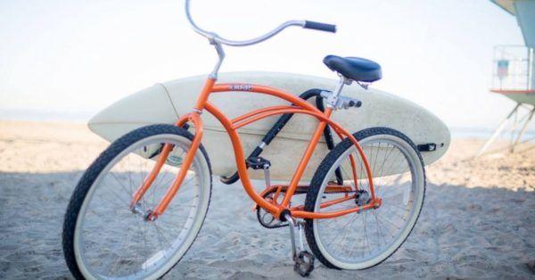 Bicycle Surfboard Rack Carrier Bike Seat Post Mounted Surfing Board Holder Racks